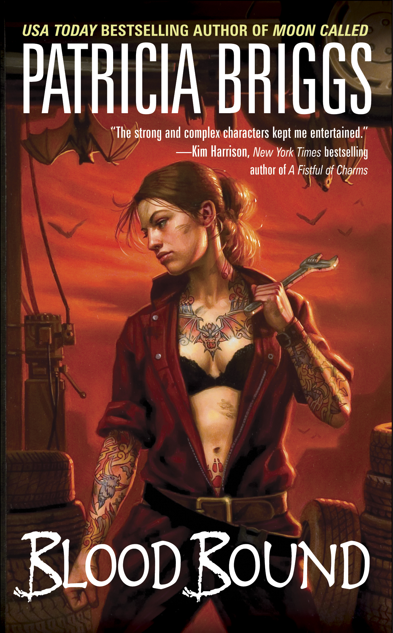 Blood Bound (Mercy Thompson, Book 2) by Patricia Briggs
